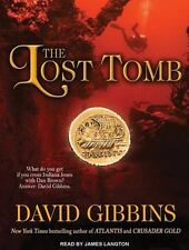 The Lost Tomb by David Gibbins Compact Disc Book (English) F/S U.S. NEW