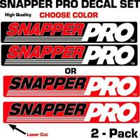 Snapper Pro Decal Set OEM graphics sticker emblem logo set Lawnmower tractor