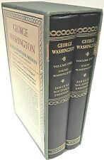 George Washington: A biography (2 volume set) by Douglas Freeman Hardcover, 1948