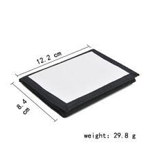 10pcs diy Sublimation White blank MDF wallet diy Print Men women Nylon Wallet
