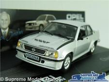 OPEL ASCONA B 400 MODEL CAR 1:43 SCALE SILVER IXO COLLECTION CHUCK JORDAN K8