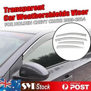 Car Weather Shields CLEAR Window Visor Rain Deflector For Holden CRUZE SE 09-14