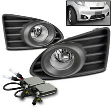 12-15 SCION IQ HATCHBACK BUMPER DRIVING CHROME FOG LIGHT LAMP W/8000K HID+SWITCH