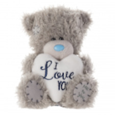 ~❤️~TATTY TEDDY Soft Toy Bear Me To You M5 I LOVE YOU Heart 12cms~❤️~