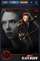 Topps Marvel Collect! Black Widow First Look CC 670 SUPER RARE   DIGITAL