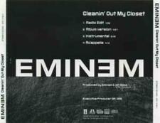 Eminem: Cleanin' Out My Closet PROMO MUSIC AUDIO CD Edit Acappella Instrumental