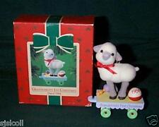 Hallmark 1984 Grandchild's First Christmas 1st Boy or Girl Baby's Ornament Lamb