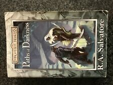 ✰ PATHS of DRAKNESS ✰ Paths of Darkness Bks. 1-3 R. A. Salvatore Drizzt