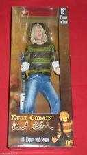 "Kurt Cobain Action Figure con sonoro 18"" Neca Nirvana 2007"