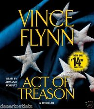 NEW! Act of Treason by Vince Flynn [Audiobook]