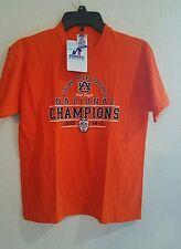 New Youth 2010 Auburn Tigers National Champions Football T Shirt Sz Large 14-16