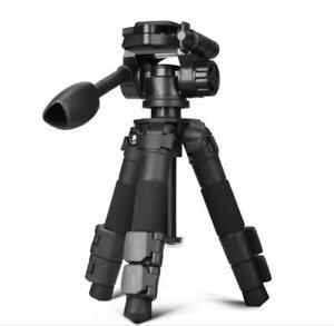 QZSD Q166S Professional SLR Camera Mini Tripod Desktop Portable Travel Stand