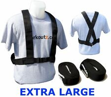 WORKOUTZ EXTRA LARGE SPEED HARNESS FOR POWER PULLING SLED WEIGHT FOOTBALL