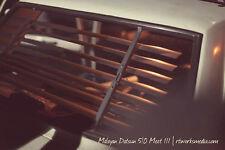 NEW!!! Rear Venetian Blind for Datsun 510 (Chrome)