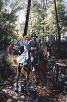 """""""To the Lost Ford"""" by John Paul Strain - Signed Studio Canvas Giclee"""