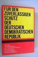 Für den Zuverlässigen Schutz der DDR ~Entwicklung der Nationalen Volksarmee NVA