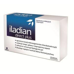 AFLOFARM ILADIAN DIRECT PLUS 10 TABLETS - THRUSH- BACTERIAL VAGINOSIS