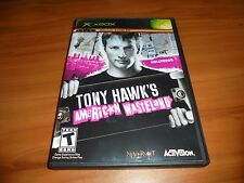 Tony Hawk's American Wasteland (Microsoft Xbox, 2005) Used Complete Original