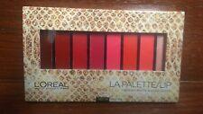 L'OREAL® LA PALETTE LIP Color Cream Matte & Highlighter 04 RED