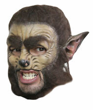 Werewolf Deluxe Chinless Adult Mask Wolf Halloween