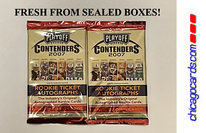 2x 2007 Playoff Contenders Hobby Pack (Peterson Johnson Rookie Ticket AUTO)?
