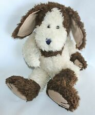 "Boyds Bears Plush Stuffed Puppy Dog Collier P Hydrant Floppy Curly Mutt Bean 18"""