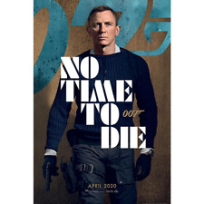 James Bond Poster No Time To Die | OFFICIAL