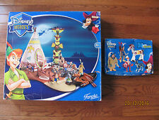 Rare Famosa Disney Heroes figure Peter Pan Indian Play Set + more