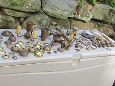 New ListingVintage Lot Brass & Cast Iron Lamp Parts