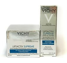 Vichy Liftactiv Supreme Normal to Combination Day Cream + Eyes & Lashes Serum