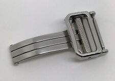 Authentic New Ebel 16mm Stainless Steel Folding Deployment Deployant Buckle OEM