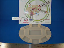 NEW 6 DOMINO TURN TABLES FOR MEXICAN TRAIN AND CHICKEN FOOT GAMES FREE SHIPPING