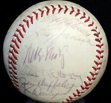 1964 San Francisco Giants Team Signed Baseball WILLIE MAYS DUKE SNIDER Auto HOF