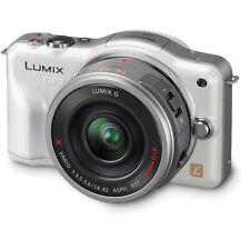Panasonic Lumix DMC-GF3 C White Kit 12.1 MP Digital Camera w/ 14mm Pancake Lens