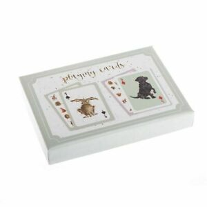 Wrendale Designs Playing Cards Gift Set - Card Game Accessories - Gift Idea