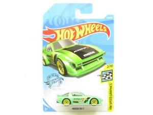 Hot Wheels Mazda RX-7 Hw Vitesse Graphiques 167/250 Long Carte 1 64 Echelle