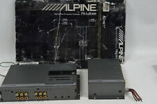 Alpine PRA-H400 Time Alignment Processor / Car Crossover & ERA-G100 11-Band EQ