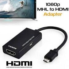 Micro USB a HDMI Cable MHL Adaptador 1080P HD TV para teléfono Samsung Android