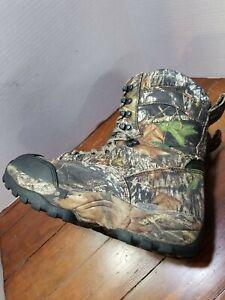 RedHead Mens Timbertrek 400 BONE-DRY Camo Insulated Waterproof Hunting Boots 13M