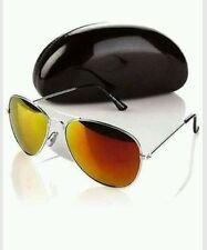 New DG2 by Diane Gilman Mirrored Aviator Sunglasses