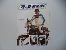 advertising Pubblicità 1977 DAINESE e MOTO KAWASAKI Z1000 Z 1000