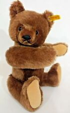 """Steiff Original Teddy Yellow Tag 0206/36 13"""" Brown Jointed Bear West Germany"""
