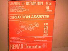 MANUEL REPARATION DIRECTION ASS. TRACTEUR RENAULT 1967