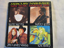 Mercury New Music Sampler 1997 Kathy Mattea Harley Allen Kim RIchey John Wiggins