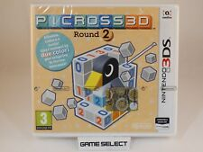 PICROSS 3D ROUND 2 NINTENDO 3DS 2DS DS PAL ITA ENG DEU FRA ESP NUOVO SIGILLATO