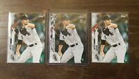 Dylan Cease 2020 Ben Baller Topps Chrome and Topps Series 1 RC Lot White Sox