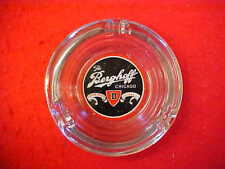 The Berghoff Beer, Chicago, Established 1898 - Glass Ashtray