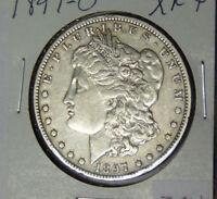 1897-O Morgan Silver Dollar XF+ New Orleans Mint (91918)