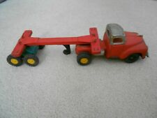 """Vintage """"Tin Type"""" Truck and Trailer Unbranded 1950?"""