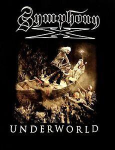 SYMPHONY X cd lgo UNDERWORLD SHIP Official 2016 TOUR SHIRT LAST LRG new